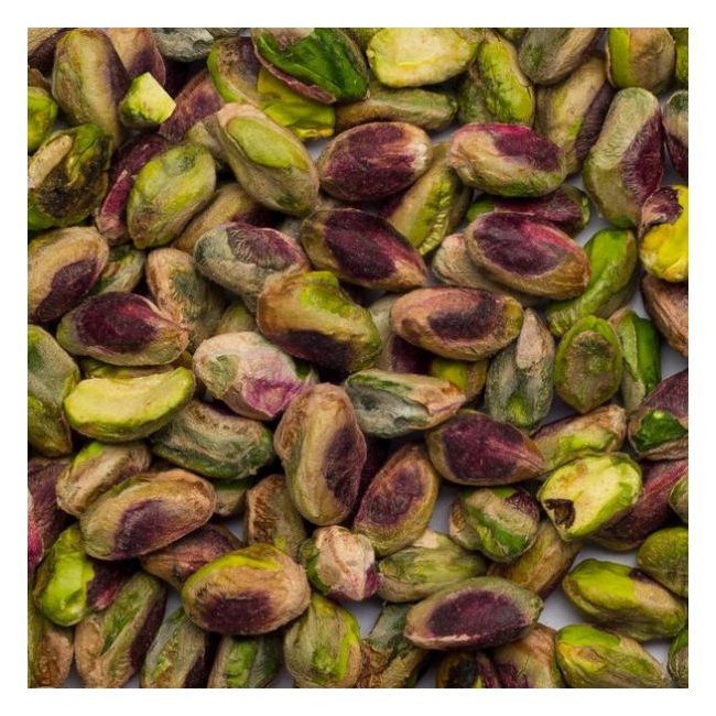 Kooritud mahe pistaatsiapähklid