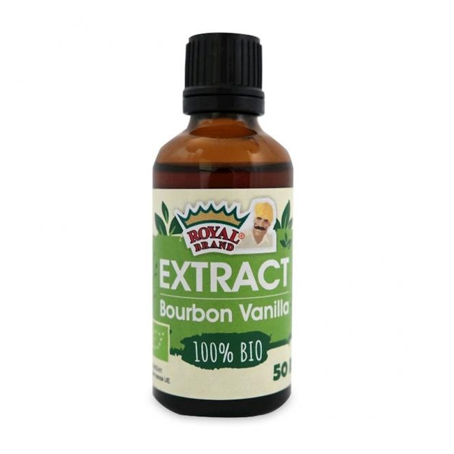 Vanilje ekstrakt (Bourbon), mahe, 50ml