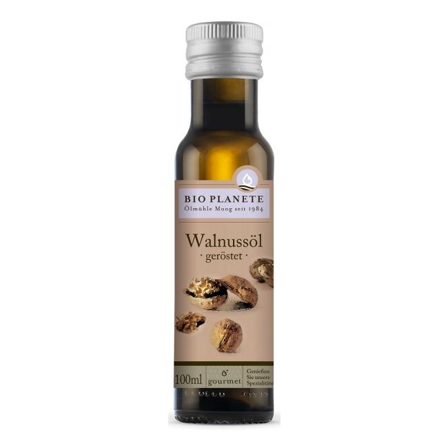 Kreeka pähkli õli (röstitud), mahe, 100ml