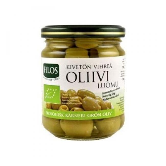 Rohelised mahe oliivid