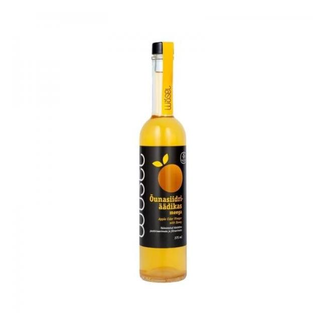 Õunasiidriäädikas meega Wösel, 375 ml