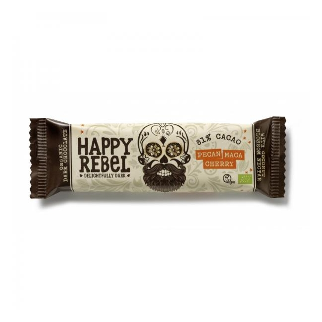 "Vegan šokolaad ""Happy Rebel"" - It's Bio"