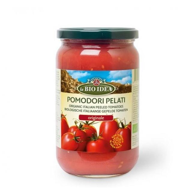 kooritud mahe tomatid