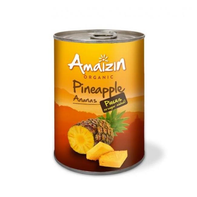 tükeldatud ananass