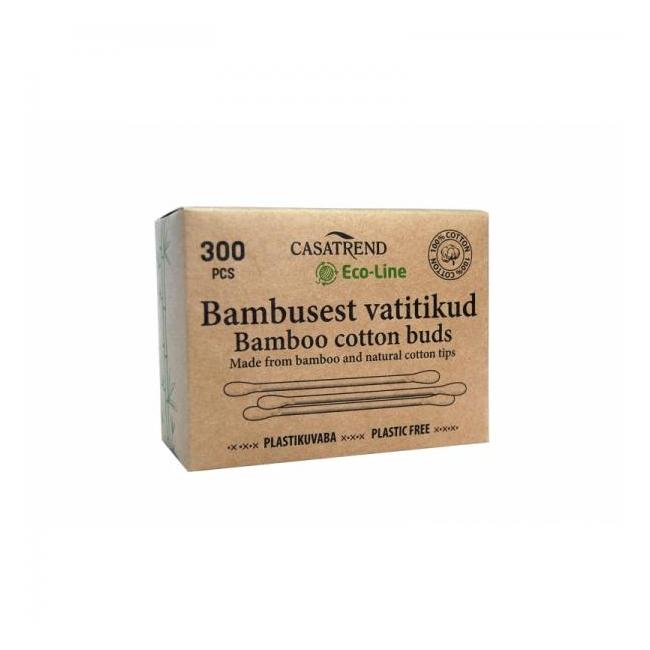 Vatitikud bambusest 300tk