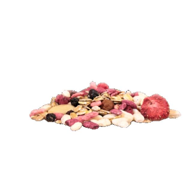Mahe müsli, vaarikas-maasikas