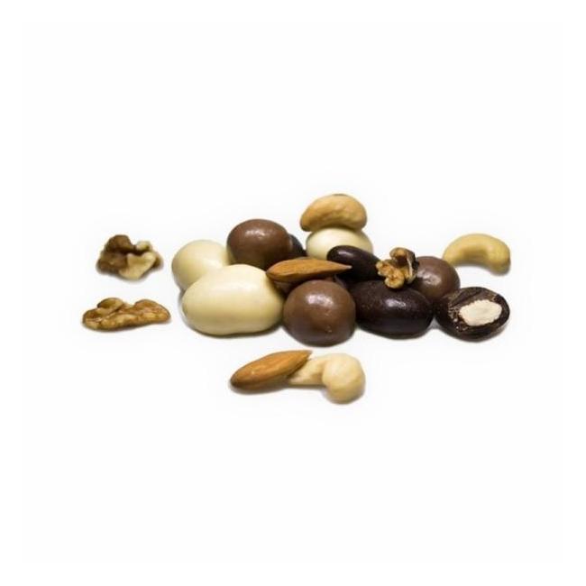 Pähklisegu šokolaadis