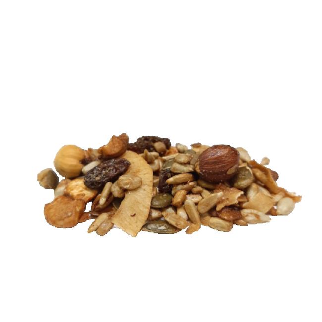 Krõbe pähkli-seemnesegu