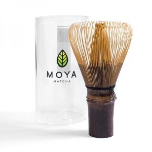 Bambusest matcha vispel (chasen), tume