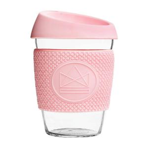 Kohvitops roosa (klaas), 340 ml
