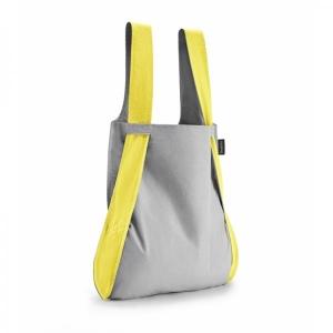 Kande-seljakott Notabag, kollane/hall