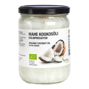 Kookosõli, extra virgin, mahe,  500ml