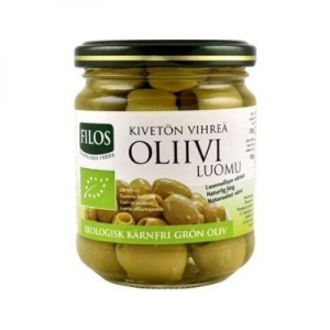 Oliivid rohelised, kivideta, mahe, 200g
