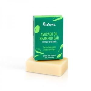 Tahke šampoon avokaadoõliga (tumedatele juustele) 100 g