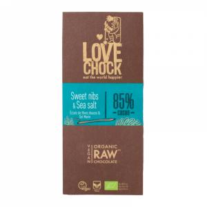Tooršokolaad kakaooa tükikeste ja meresoolaga, mahe, 70g