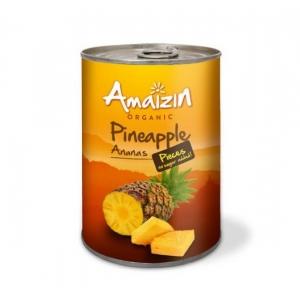 Tükeldatud ananass (purgis), mahe,  400 g