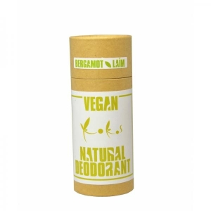 Vegan-deodorant, bergamot-laim, 90g