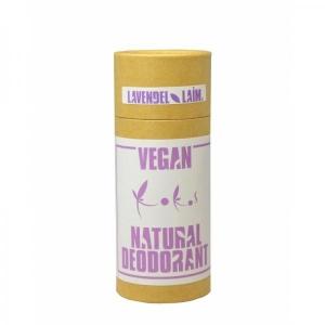 Vegan-deodorant, lavendel-laim, 90g