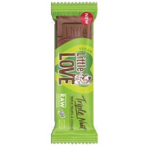 """Tooršokolaad Little Love """"3 pähklit"""", mahe, 25g"""