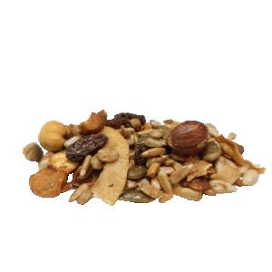 Krõbe pähkli-seemnesegu, mahe, 300g